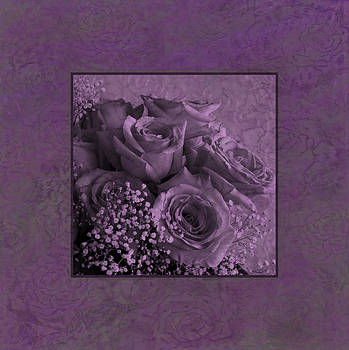 Sandra Foster - Purple Roses Delight