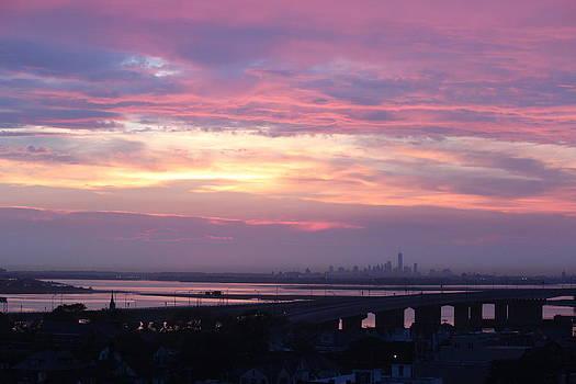 Purple Skyline by Rita Tortorelli