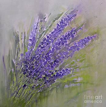Purple lavender summer by Amalia Suruceanu