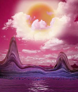 Purple Sun by Piero Lucia
