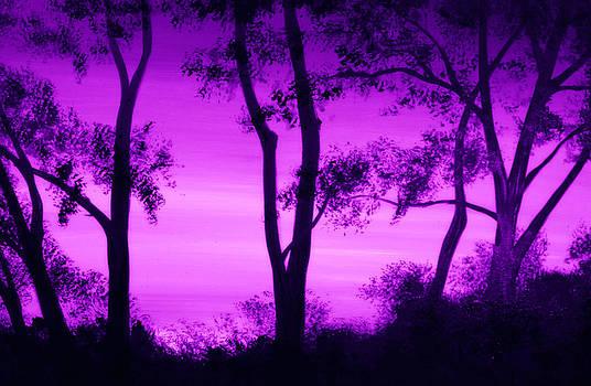 Purple Sunset by Alma Yamazaki