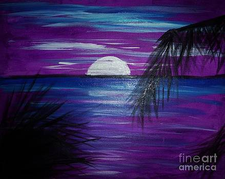 Purple Tropics by Marie Bulger