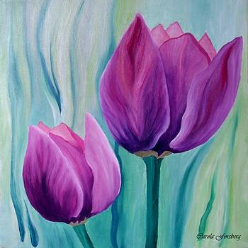 Purple Tulips by Carola Ann-Margret Forsberg