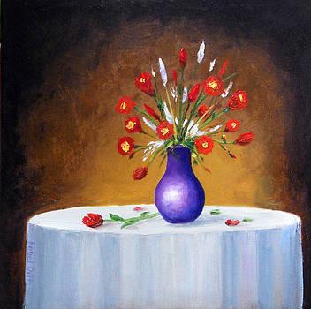 Purple Vessle by Angel Ortiz