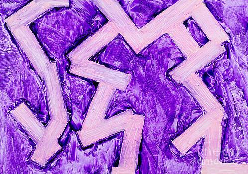 Simon Bratt Photography LRPS - Purple zigzag was painting