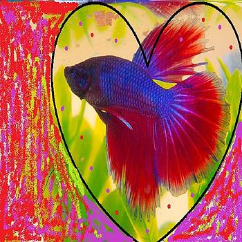 Purpred Fish by Yaa Hughes