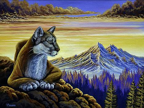 Purrfect Vista by Vivian Markham