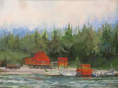 Pybus Point Alaska by Terri Messinger