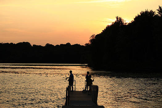Pymatuning Silhouette by Jim Cotton