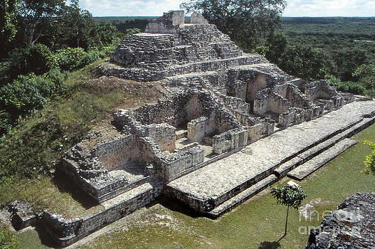 Pyramid at Becan by Eva Kato