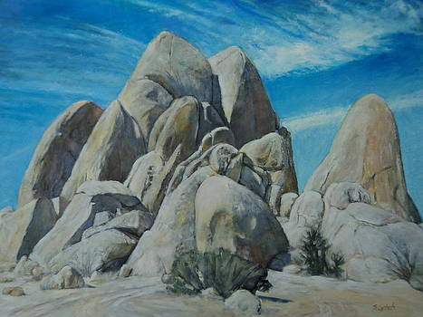 Pyramid Rocks on Live Oak Trail by Sandra Lytch