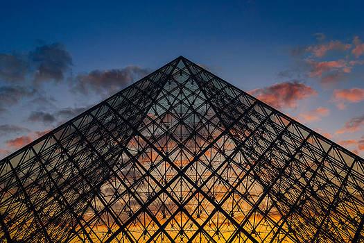 Pyramidal Sunset by Darko Ivancevic