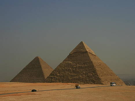 Pyramids of Giza by Hermien Pellissier