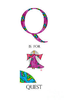 Q is for Quest by Emily Lupita Studio