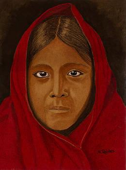 Qahatika Girl by Mike Robles