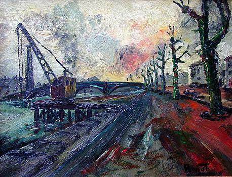 Quai de Paris - original sold by Bernard RENOT