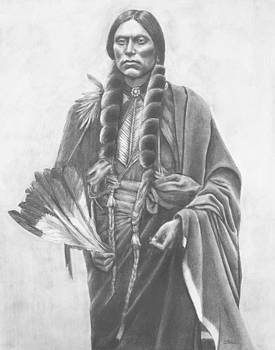 Quanah Parker of the Comanche Tribe by Casey Brown