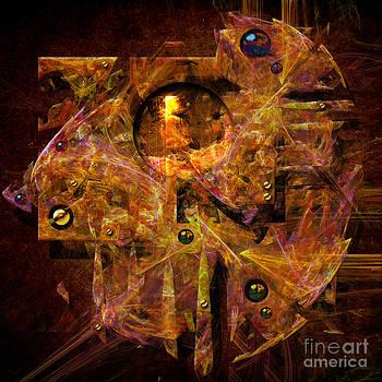 Quantum clock by Alexa Szlavics