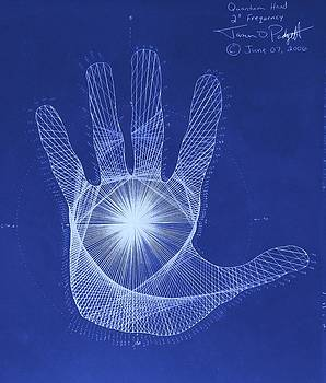 Quantum Hand Through My Eyes by Jason Padgett
