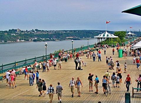 Rick Todaro - Quebec City  Governors Promenade