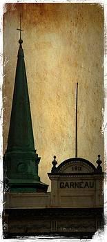 Laura Carter - Quebec City Old Buildings Fine Art Photograph