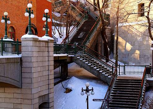 Julie Grandfield - Quebec Stairs