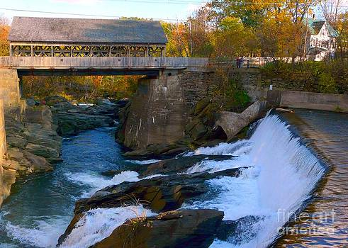 Christine Stack - Quechee Covered Bridge from Simon Pearce