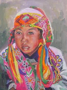 Quechua Boy by Luz Perez