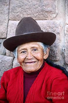 James Brunker - Quechua Lady in Cusco