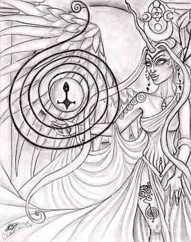 Queen Arianrhod by Coriander  Shea