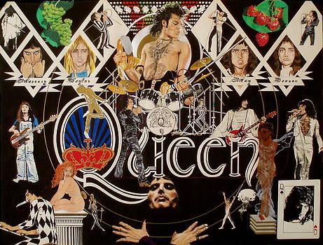 Queen - Black Queen White Queen by Sean Connolly