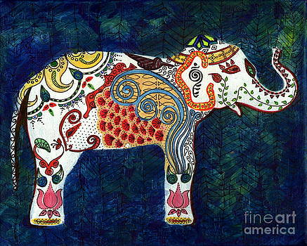 Queen Elephant by Anusha Mishra