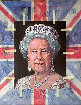 Queen Elizabeth II by Kenneth North
