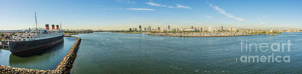 Queen Mary by Long Beach by Clear Sky Images