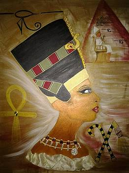 Queen Nefertiti by Edwina Sage Washington