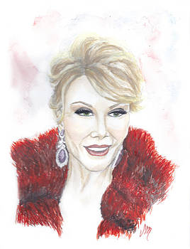 Queen of Comedy Joan Rivers by Sabina Mollot
