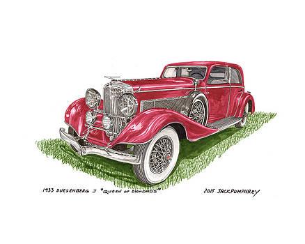 Jack Pumphrey - Queen Of Diamonds 1933 Duesenberg Model J