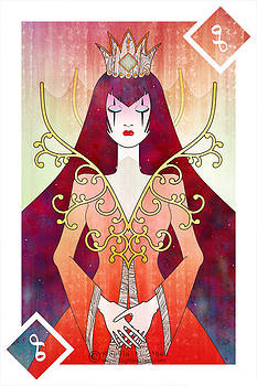 Queen of Diamonds by Sophia Adalaine Zhou