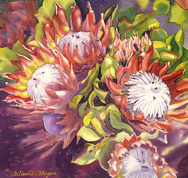 Queen Protea by Artimis Alcyone
