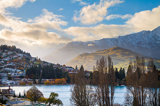 Queenstown New Zealand Lake by James Gordon Patterson