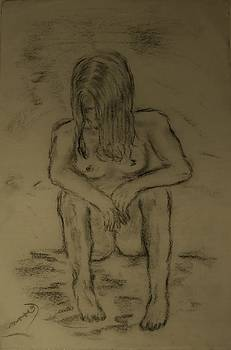 Quick Sketch Nude by Carrie Viscome Skinner