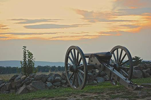 Sherlyn Morefield Gregg - Quiet Moment Before Dusk at Gettysburg