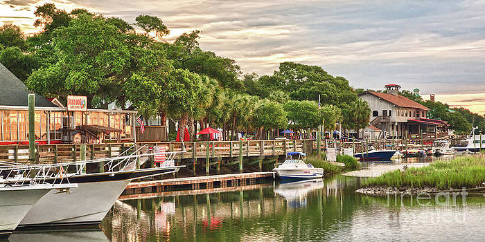 Quiet Morning at the Inlet II by Mike Covington