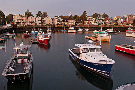 Quiet Morning in Rockport by Heather Reeder