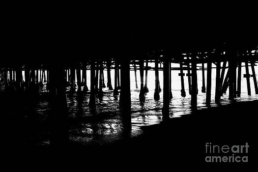 Quiet Pier Pillars by David Lee