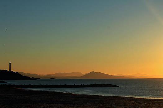 Quiet Sunset by Cedric Darrigrand