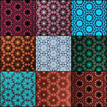 Nick Heap - Quilted Fractals