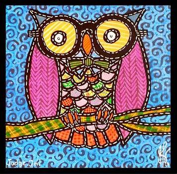 Jim Harris - Quilted Judge Owl