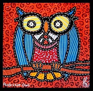 Jim Harris - Quilted Professor Owl