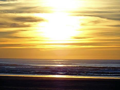 Robert Meyers-Lussier - Quinault Beach Sunset